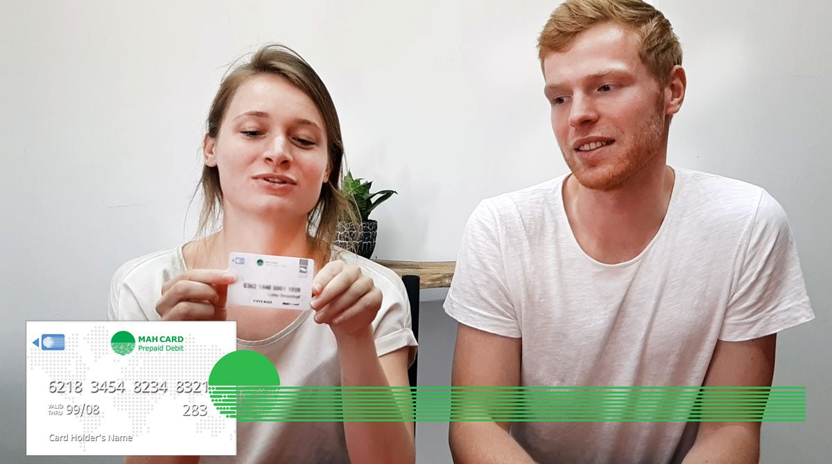 Lotte and Sam talking about their MahCard and MahCell Experience!